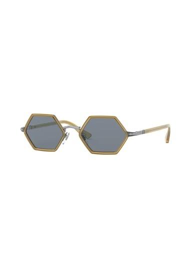 Persol Persol 0Po2472S 109356 49 Ekartman Unisex Güneş Gözlüğü Gümüş